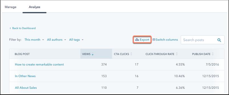 Export HubSpot CMS Data - HubSpot vs WordPress: The Ultimate Comparison - Rystedt Creative