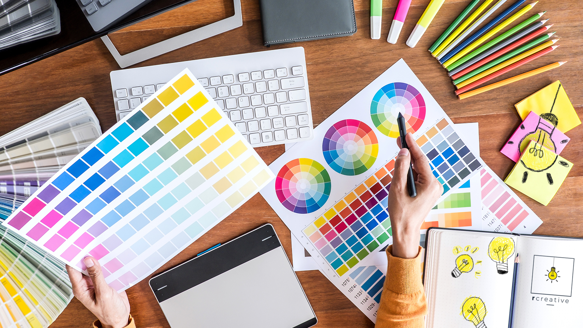Read more about the article What's the Difference Between RGB, HEX, CMYK, and PMS Color Values?